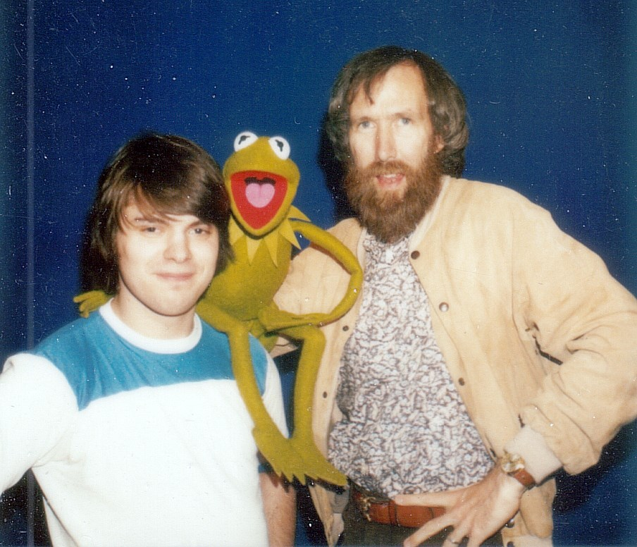 ... to audition for Jim Henson, I brought along the Kermit the Frog