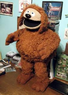 Rowlf poser puppet by Terry Angus